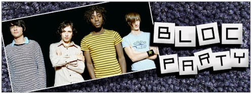 Bloc Party's Official Website!